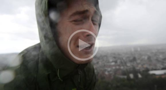 L'entrainement des belges à la Highline sur l'atomium